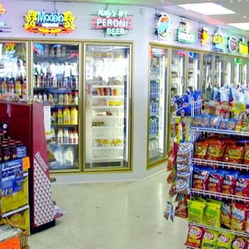 Display Coolers & Freezers